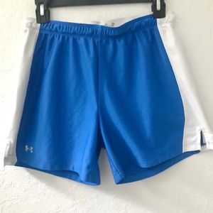 Under Armour Blue & White Shorts Mens Small